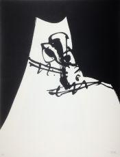 Dama by Antonio Saura