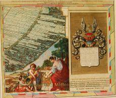 ROTTERDAM HILLEGERSBERG, BERKEL-RODENRIJS, ACKERDIJKSE PLASSEN  by Cruquius, Jacob