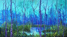 Blauw groene T by Gertjan Scholte-Albers