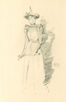 Gants de suede by James McNeill Whistler