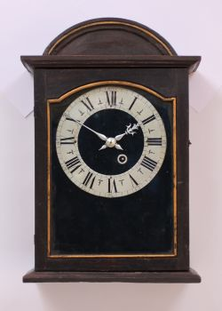 A Swiss provincial 'religieuse' wall clock, circa 1680 by Unknown Artist