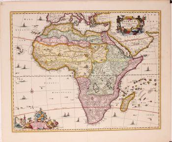 Africa  by  Nicolaes Visscher
