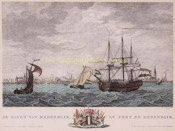 Medemblik, after Dirk de Jong by  Matthias de Sallieth