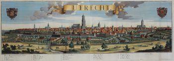 Utrecht  by  Johann Friedrich Probst