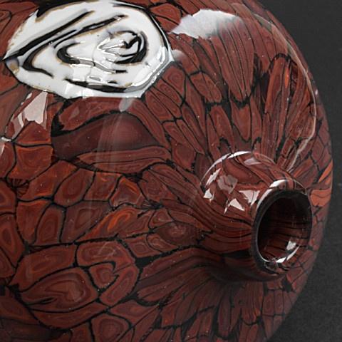 Venetian vase by Vittorio Ferro