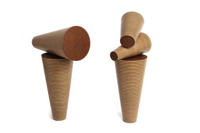 'totems cone' by Vicente Antonorsi Blanco