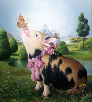 Miss Piggy by Suzan Visser