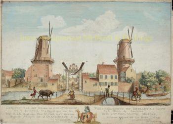 Den Haag, Loosduinseweg  by  Hendrik Florisz. Scheurleer