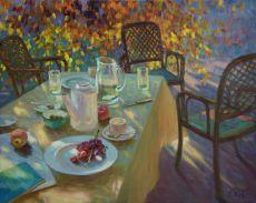 Avond thee by Juane Xue