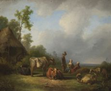 Pastorale by Jan van Ravenswaay