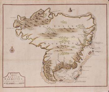 Mauritius  by  Francois Valentijn