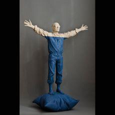 Nel Blu Dipinto Di Blu by Willy Verginer