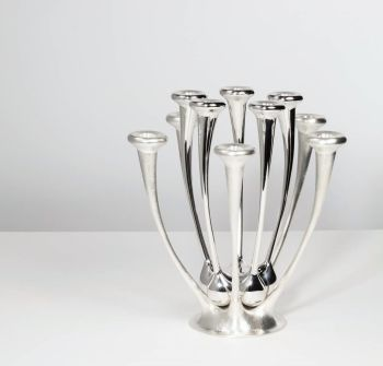 """candle stand """" Embrace"""" by Paul de Vries"""