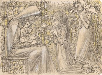Workship of the Christ Child by Jan Toorop