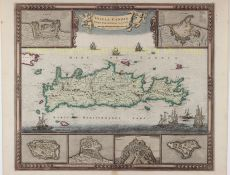 MAP OF CRETE   by Wit, Frederick de (1630-1706)