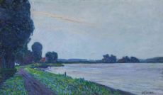 Truly Weather on the Amstel by Leo Gestel