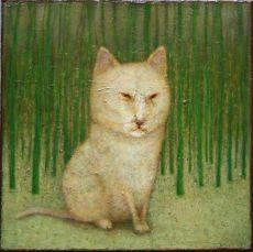 Witte kat  by José van Kleef