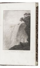 Rare collection of travel accounts, with 12 aquatint views