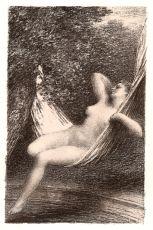 Sara la Baigneuse by Henri Fantin-Latour