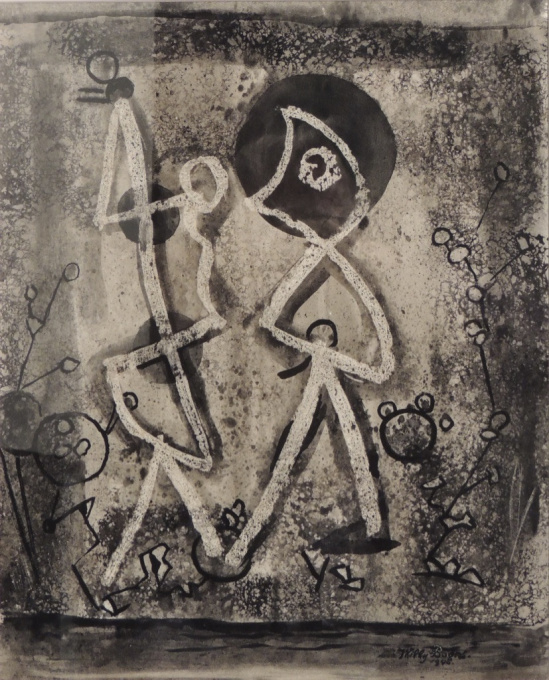 Geheimzinnig treffen (Mysterious encounter) by Willy Boers