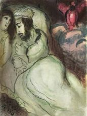 Sara et Abimelech by Marc Chagall