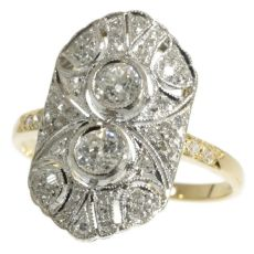 Art Deco diamond engagement ring III by Unknown Artist