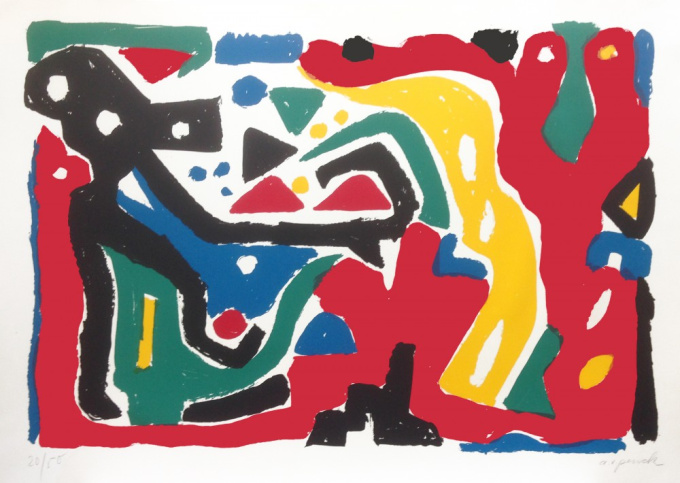 Expedition to the Holyland I by A.R. Penck
