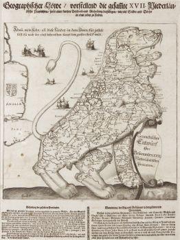 Leeuwekaart  by  Wilhelm Serlin