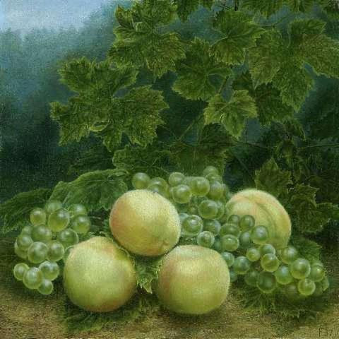 'Vruchten' (Fruits) by Edgar Richard Johannes Fernhout