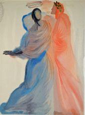 Divina commedia paradiso 18 by Salvador Dali