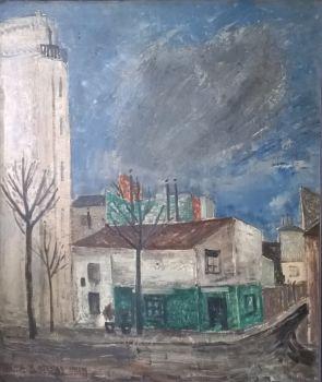 'Paysage Parisien' by Charles Eyck