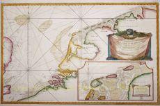 Zeekaart Nederlanden, 1763 by Bellin, Jacques-Nicolas